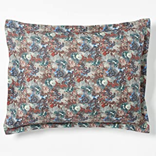 Robert Graham Home Tapestry 400 Thread Count Italian Percale Woven with Extra-Fine Long Staple Cotton Pillow Sham (Standard)