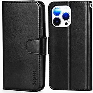 Migeec Compatible with iPhone 13 Pro Case with RFID Blocking Card Holder Phone Stand Wallet Case Cover for iPhone 13 Pro ...
