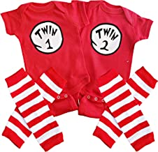 Perfect Pairz Twin 1 Twin 2 + Leggings USA Made Outfit