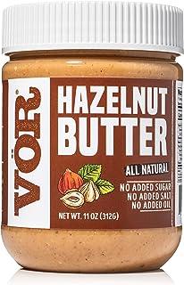 Vör Pure Hazelnut Butter Spread (11oz) | Only One Ingredient | No Sugar, No Salt | Vegan, Paleo, Keto, Whole 30… (11oz Jar)