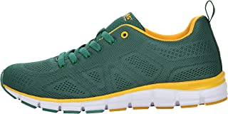 Boras Fashion Sports 5203-1579 Unisex Trainers Also Available in Plus Sizes Basic Green/Yellow
