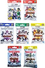 Kre-O Transformers Micro Changers 7 Pack Bundle includes: Preview Series, Collection 1, 2, 3, 4 & Age of Extinction Collection 1 & 2 Mini Figure Blind Bag Mystery Packs (1 Pack of Each)