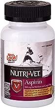 Nutri-Vet Aspirin Chewables for Large Dogs, 75 Count