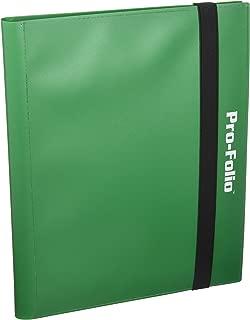 Pro-Folio 9-Pocket Album, Green