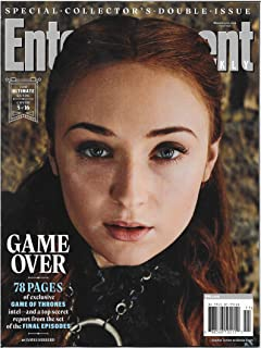 Entertainment Weekly Magazine (March 15, 2019) Game of Thrones Game Over Sansa Stark Cover 5 of 16