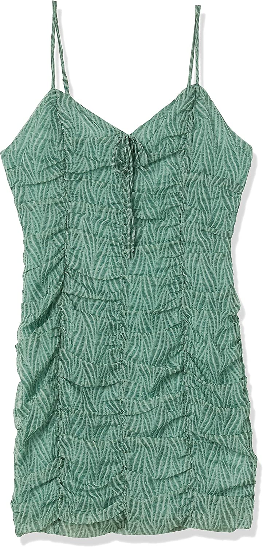 J.O.A. Women's Allover Ruching Mini Dress