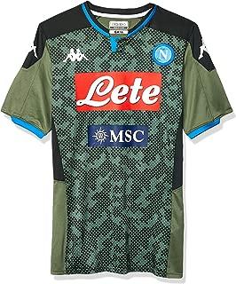 Italian Serie A Men's Away Match Shirt, Green, L