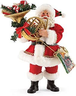 Department 56 Possible Dreams Gift of Music Santa, 10.5 inch