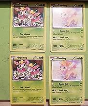 Pokemon® Card Lot_04 Cards_2_DEERLING Pokemon X & Y Fates Collide (8/124)_2_DEERLING Pokemon Black & White (13/114)