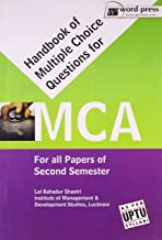 Handbook Of Multiple Choice Questions For Mca (For All Papers Of Secondsemester)