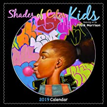 Shades of Color 2019 Kids African American Calendar by Frank Morrison, 12