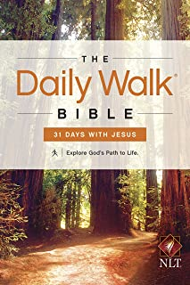 The Daily Walk Bible NLT: 31 Days with Jesus