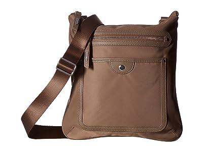 Baggallini Highland Slim Crossbody (Walnut) Cross Body Handbags
