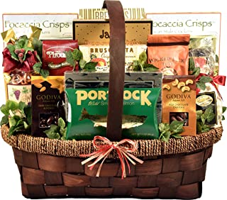 The Best Of The Best, Extra Large Gourmet Gift Basket With Sweet Treats & Savory Snacks - Enought For A Whole Family Or Office Staff