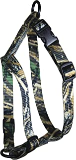 OmniPet Kwik Klip Adjustable Nylon Pet Harness, Medium, Realtree Max-5 Camouflage