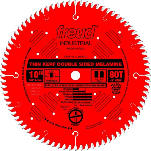 """discount Freud 10"""" outlet online sale x 80T Thin Kerf Double Sided Laminate/Melamine outlet sale (LU96R010) online"""