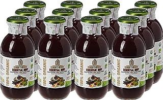Georgia's Natural100% Organic Cold Pressed Essential Roots Juice, 300 ml x 12