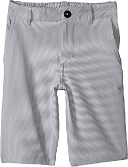 Union Pinstripe Amphibian Shorts (Big Kids)