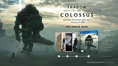 shadow of the colossus steelbook