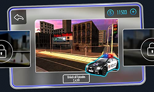 『Police Car Parking 3D』の5枚目の画像