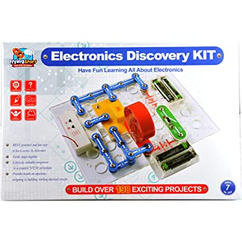 FLYING START Electronics DiscoveryKit (198 Experiments)