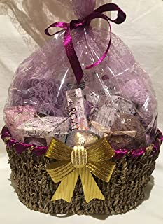 Premium Lavender Spa Collection Gift Basket 14 count,spa essentials, lavender argan collection, european soaps, for the perfect spa gift