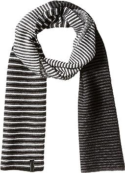 Calvin Klein - Ombre Stripe Jersey Muffler Scarf