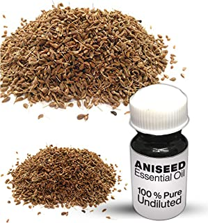 Aniseed Essential Oil / 100% Pure Aniseed Undiluted Essential Oil Premium Quality (10 ML)