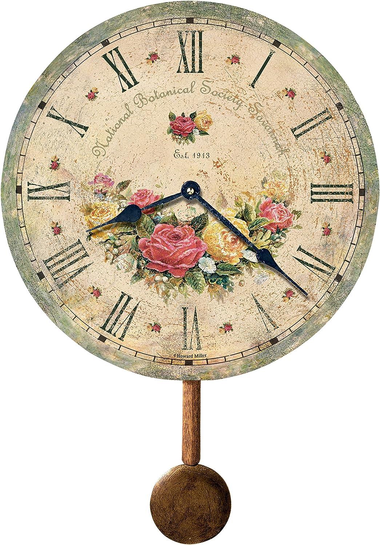 Howard Miller 620-401 Savannah Botanical Society VI Wall Clock