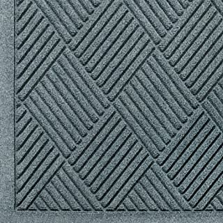 M+A Matting - 221580023 WaterHog Fashion Diamond-Pattern Commercial Grade Entrance Mat, Indoor/Outdoor Medium Brown Floor ...