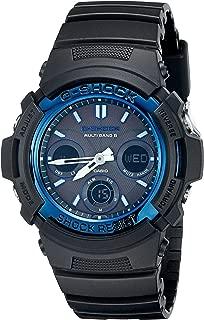 Men's G-Shock AWGM100A-1A Tough Solar Black Resin Sport Watch