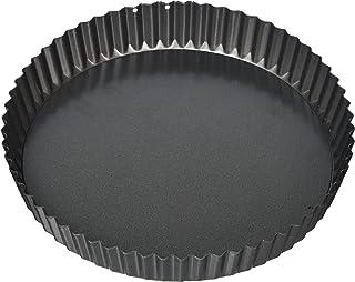 A'Domo PV-BAK-2304 Point-Virgule - Sartén antiadherente con base desmontable, 23 cm, acero, color plateado