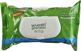 Seventh Generation Clear Wipes Unscented