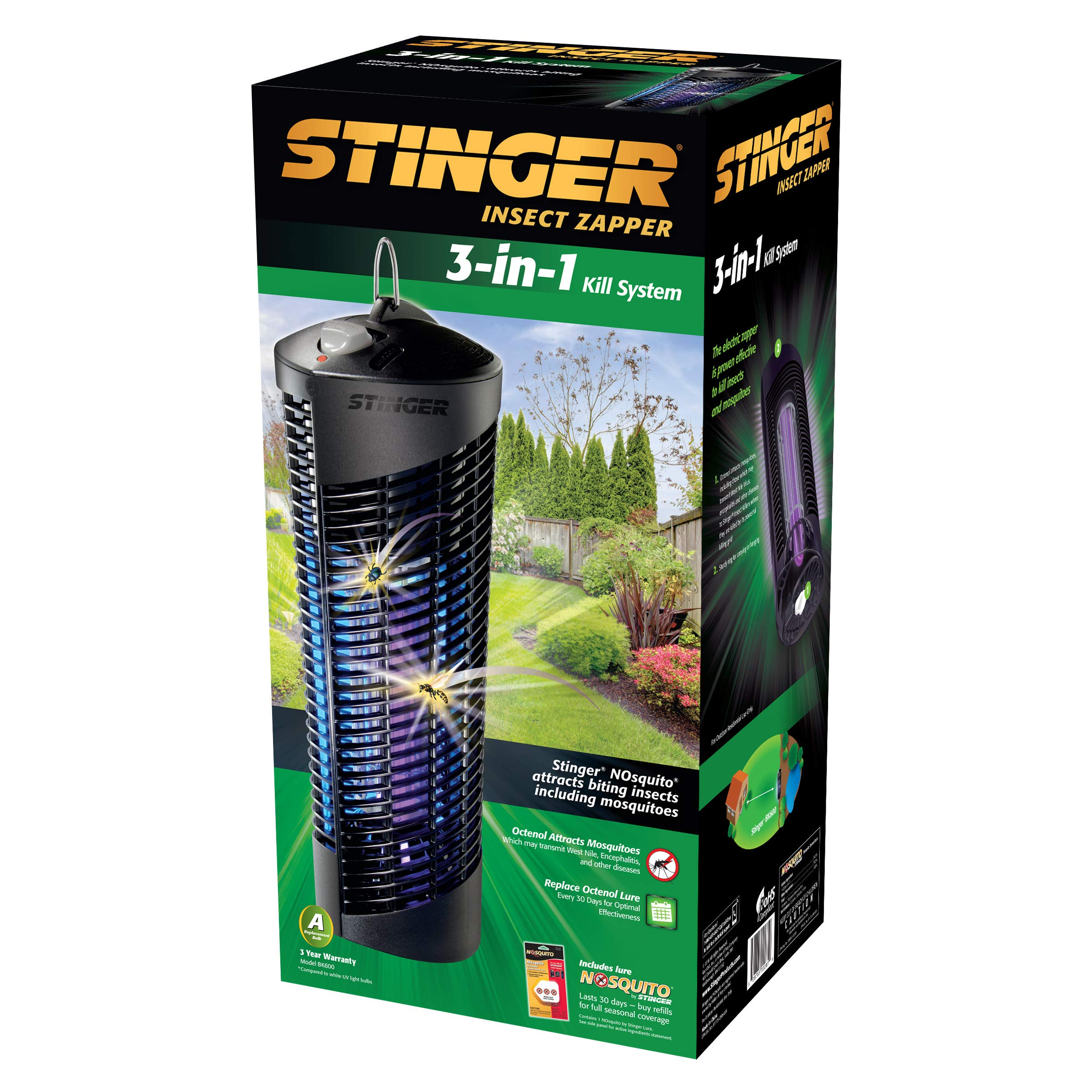Stinger BK600 Insect Mosquito Zapper