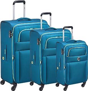 DELSEY CUZCO 4W 3 PCS SET 78/68/55CM (Steel Blue)