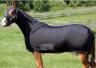 Horse Sleazy Full Body Slicker/Sheet / Blanket with Full Separating Zipper Medium/Navy