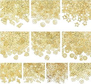 OLYCRAFT 25 جرام نبات تحت عنوان الراتنج حشو 10 شكل النحاس إيبوكسي الراتنج اللوازم الأشعة فوق البنفسجية الراتنج ملء الملحقا...