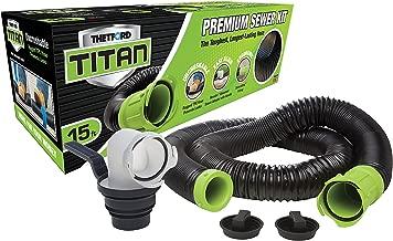 TITAN 17853 15ft 15-Foot Premium RV Sewer Hose Kit-Thetford-17853