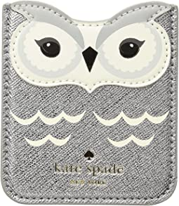 Kate Spade New York - Owl Sticker Pocket
