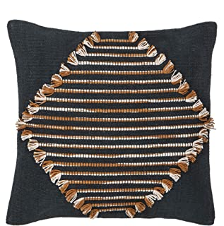 Amalfi Danika Cushion Danika Bohemian Throw Cushion Pillow, Navy/Terracotta