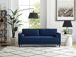 Amazon.com: Blue - Sofas & Couches / Living Room Furniture ...