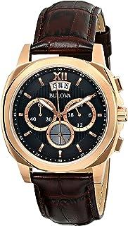 Bulova - 97B136 - Reloj para Hombres, Correa de Cuero