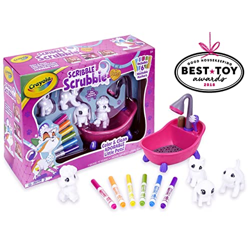 Crayola Scribble Scrubbie Toy Pet Playset Easter Basket Stuffers Gift