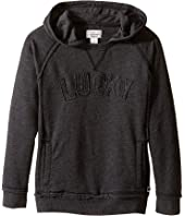 Lucky Brand Kids - Pullover Hoodie with Lucky Chest Logo (Little Kids/Big Kids)