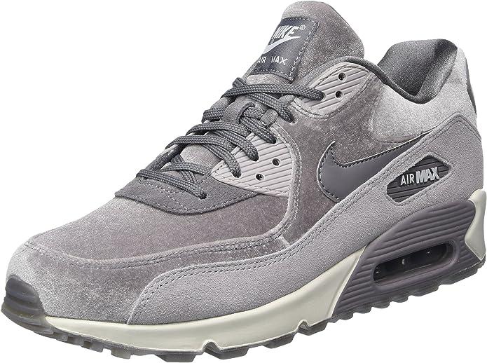 Nike Wmns Air Max 90 LX, Scarpe da Ginnastica Donna, Grigio ...