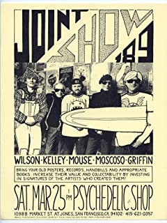 Joint Show 89 Handbill Wilson Kelley Mouse Moscoso Griffin