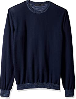 Bugatchi Men's Long Sleeve Pullover Sweater
