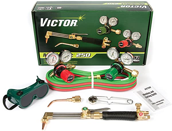 Victor Technologies 0384 2540 Medalist 250 System Medium Duty Cutting System Acetylene Gas Service G250 15 510 Fuel Gas Regulator