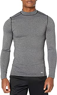 Amazon Essentials Men's Control Tech Thermal Long-Sleeve Mock Shirt
