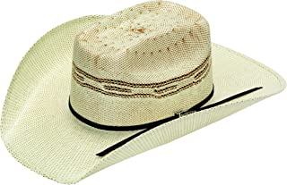 Unisex Twister Bangora Cowboy Hat (Little Kids/Big Kids) Tan/Chocolate XL